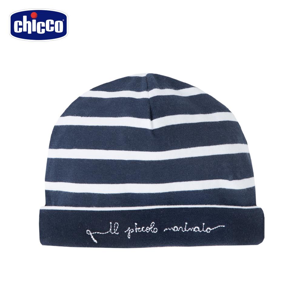 chicco-潛水艇-條紋雙面嬰兒帽