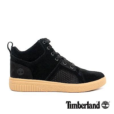 Timberland 女款黑色絨面Milania運動休閒鞋