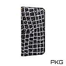 PKG IPhone7/8 Plus 爆閃鑽面皮套