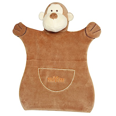 美國miYim有機棉手偶安撫巾-布布小猴