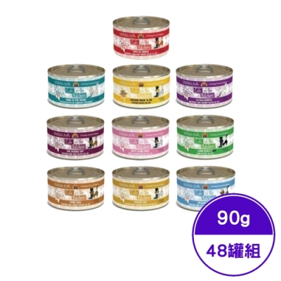 【48罐組】Cats in the Kitchen凱特美廚貓咪無穀主食罐90g
