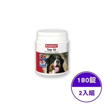 Beaphar樂透-TOP-10犬用超級鈣錠(180錠)(2入組)