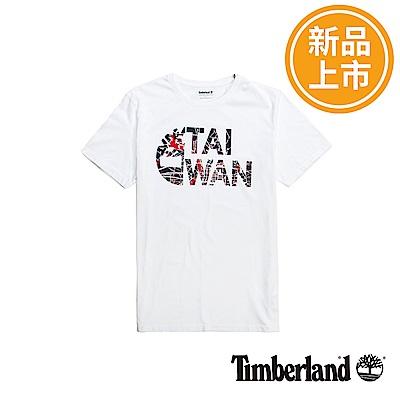 Timberland 男款白色品牌台灣T恤