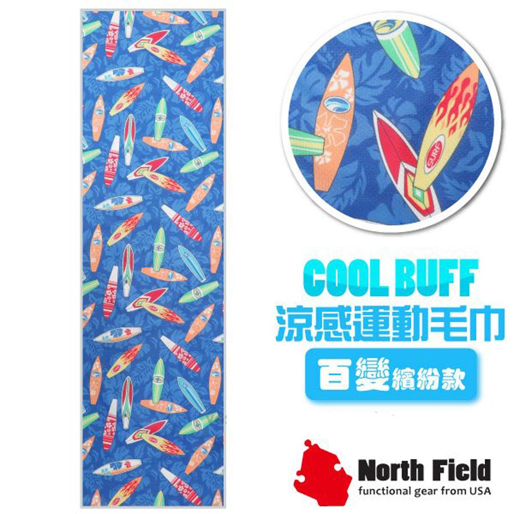 美國 North Field COOL BUFF 速乾吸濕排汗涼感運動毛巾_嘻哈衝浪