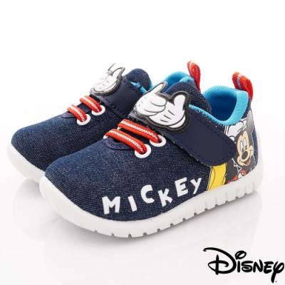 迪士尼童鞋 米奇牛仔休閒鞋款 ON19806藍(中小童段)