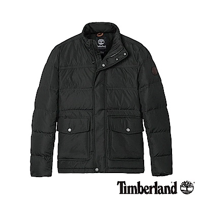 Timberland 男款黑色保暖羽絨外套|A1WK2