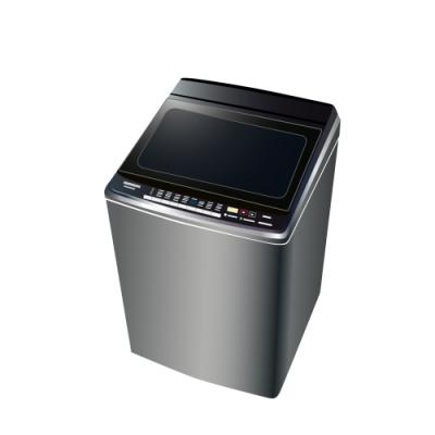 [時時樂限定] Panasonic國際牌 16KG 變頻雙科技溫水直立式洗衣機 NA-V160GBS-S 不鏽鋼
