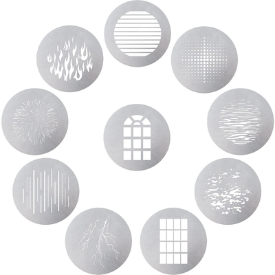 Aputure 愛圖仕 10 GOBO KIT 投影造型片10片組│適 Spotlight Mount 鏡頭組-公司貨