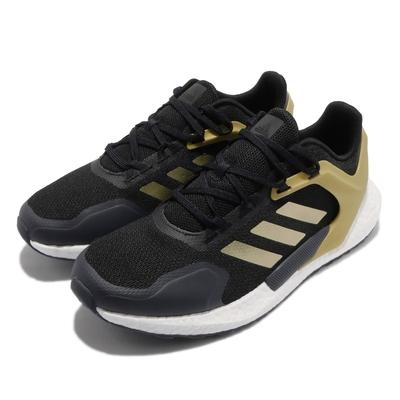 adidas 慢跑鞋 Alphatorsion Boost 男鞋 海外限定 愛迪達 舒適 避震 路跑 黑 金 GZ7543