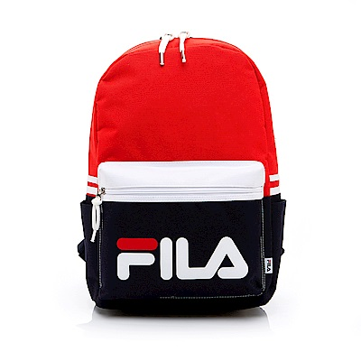FILA LOGO後背包-紅 BPT-1401-RD
