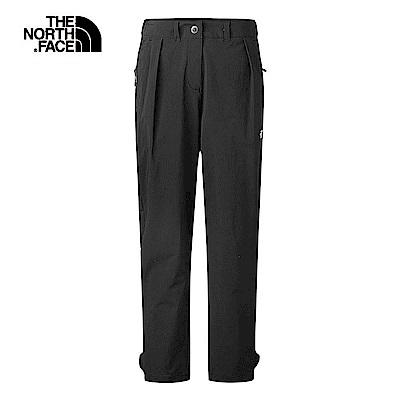 The North Face北面女款黑色吸濕排汗長褲|3RLGJK3
