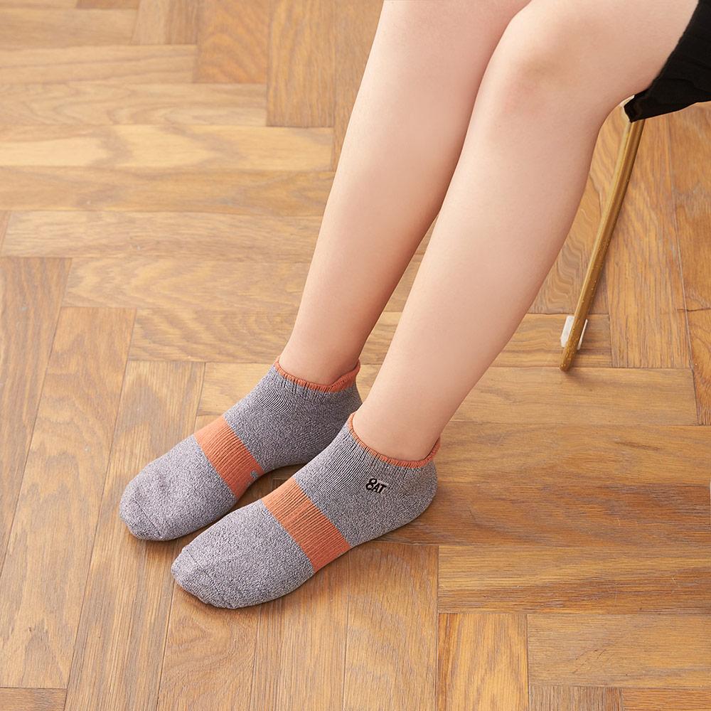 8:AT 運動短襪(花紗灰)