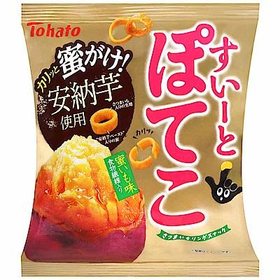 東鳩 手指圈圈餅-拔絲地瓜風味(65g)