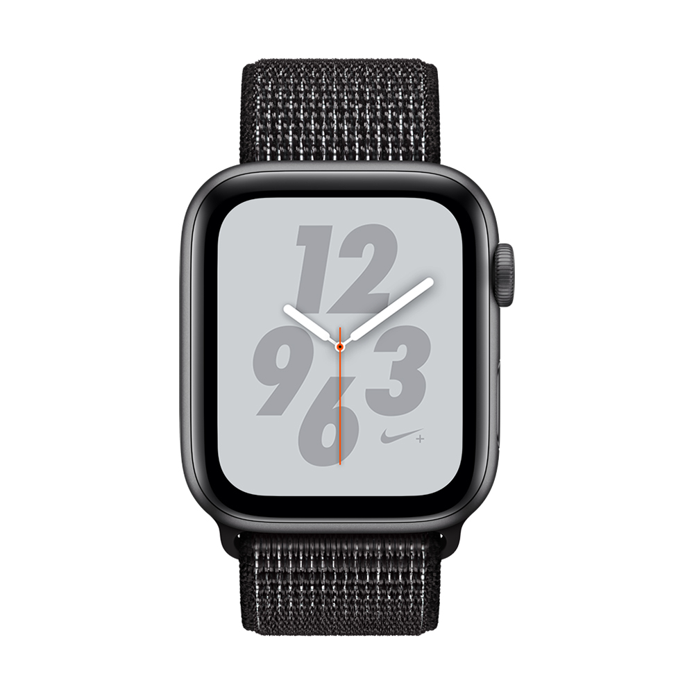 Apple Watch Nike+ S4(GPS)44mm 太空灰色鋁金屬錶殼+黑色錶環
