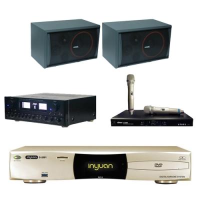音圓N2A+SUGAR SAK-5888+SK-8210+MI-889(伴唱機4TB+卡拉OK套組)