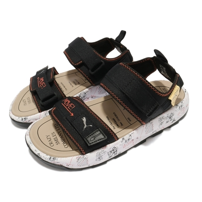Puma 涼鞋 RS-Sandal Michael Lau 女鞋 聯名款 SAMPLE 樣本 怪奇時尚 黑 白 38051701