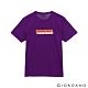 GIORDANO  男裝英文標語印花T恤-85 棱鏡紫 product thumbnail 1