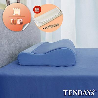 TENDAYS DISCOVERY 柔眠枕(冰湖藍) 10cm