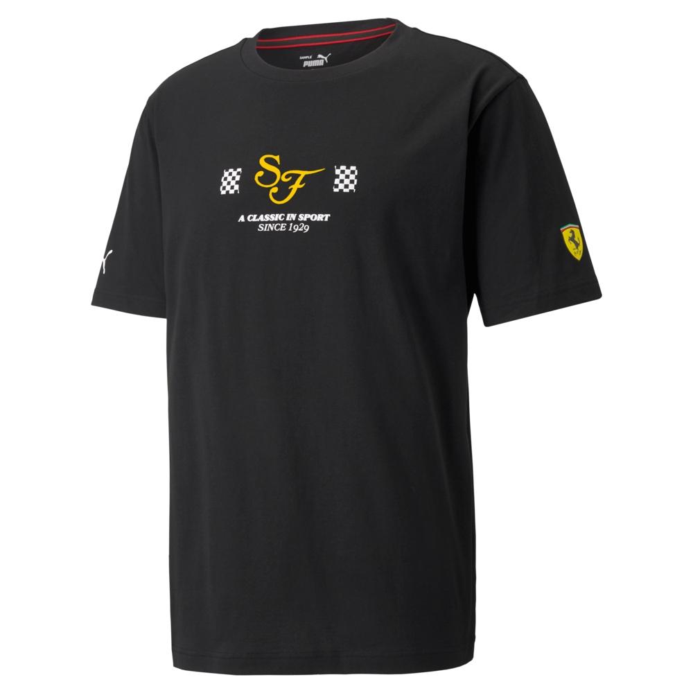 【PUMA官方旗艦】法拉利車迷系列Statement短袖T恤 男性 53164701