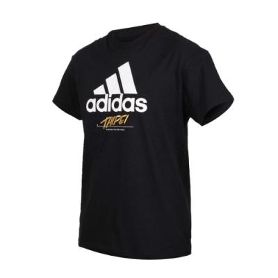 ADIDAS TAIPEI JOCKTAG 黑 短袖上衣-GJ0293