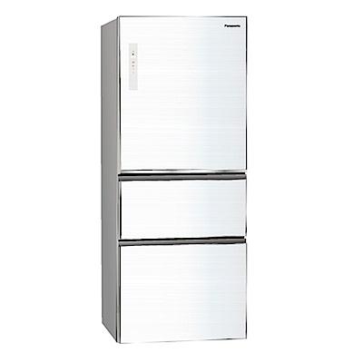 Panasonic國際牌500L玻璃三門變頻冰箱 NR-C509NHGS