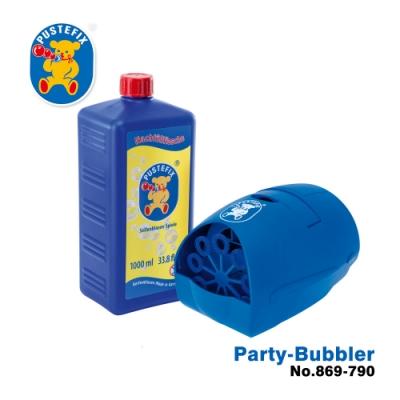 【德國Pustefix】 魔法Party電動泡泡機(含1000ml) 869-790