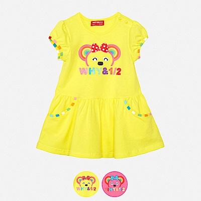 WHY AND 1/2 mini 低腰棉質萊卡洋裝 1Y~4Y 多色可選