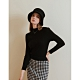 Shester55-微高領坑紋針織衫(三色)-女【A2SH092】 product thumbnail 1