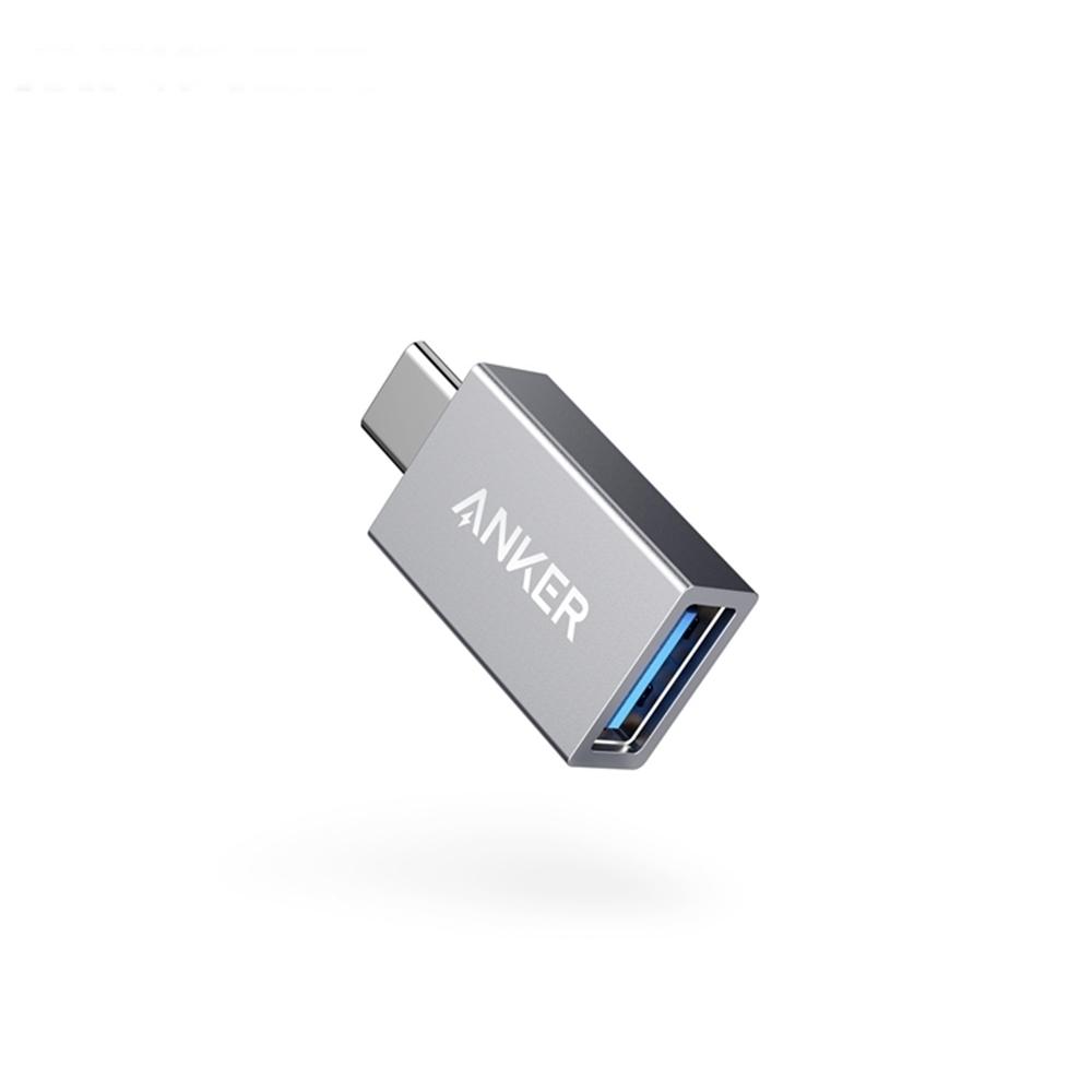 美國Anker電腦OTG手機Type-C轉USB轉接頭 USB-C轉USB-A轉接器A81750A1亦適Apple蘋果macbook product image 1