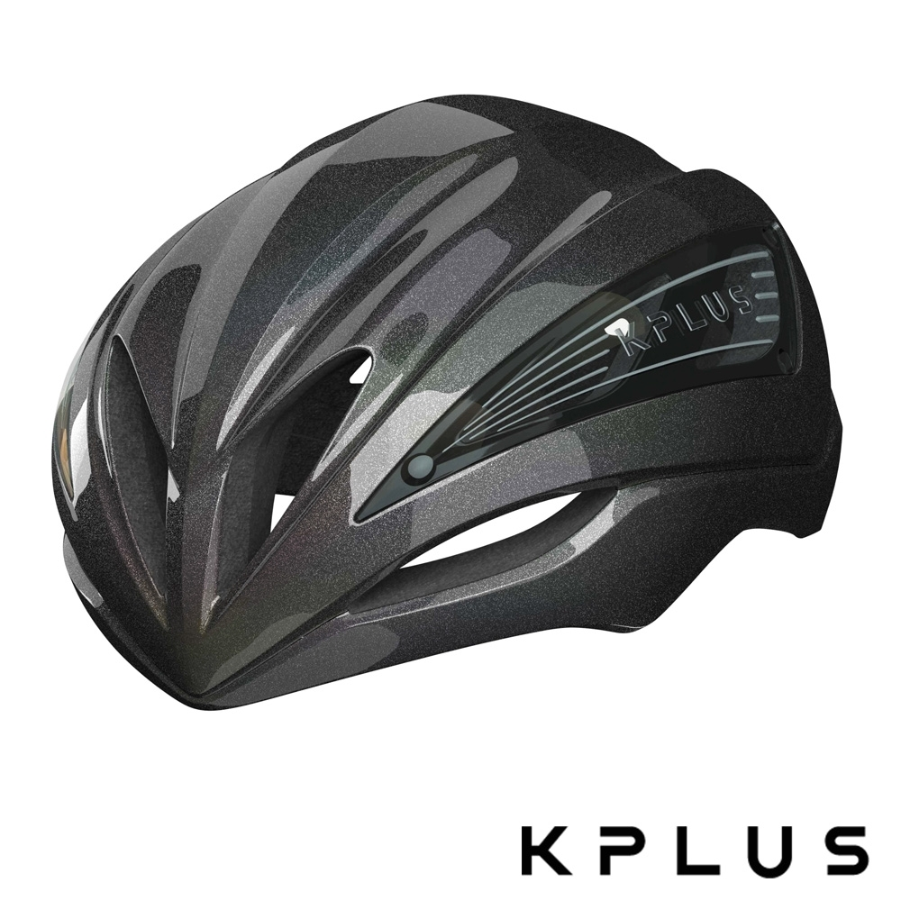 KPLUS 單車安全帽S系列公路競速ULTRA GALAXY Helmet-幻彩黑