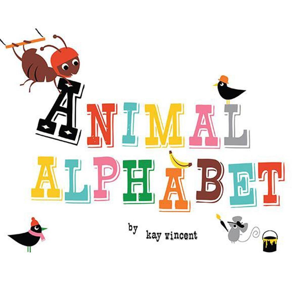Animal Alphabet 認識字母 精裝繪本