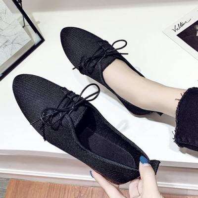 KEITH-WILL時尚鞋館 明星款布面休閒鞋-黑