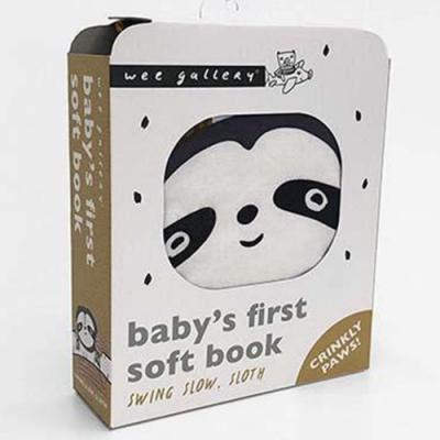 Wee Gallery Cloth Books:Swing Slow, Sloth 樹懶出遊記布書