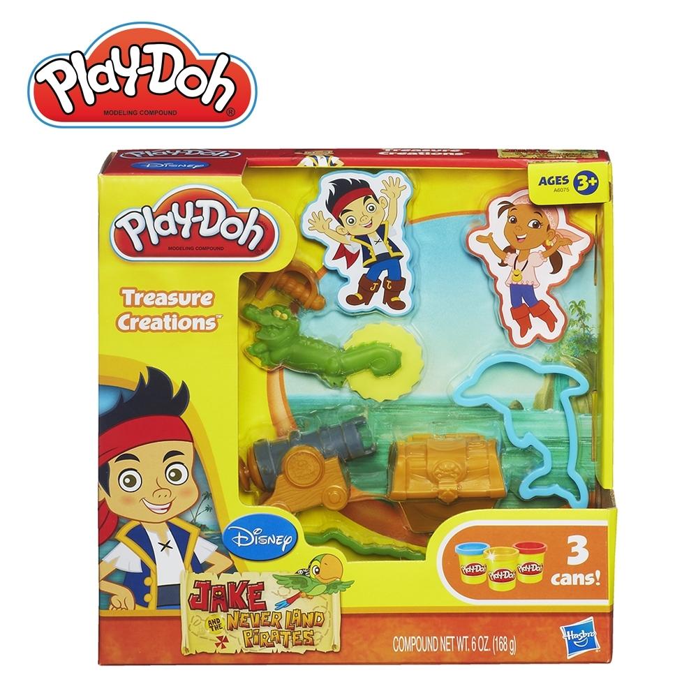 Play-Doh 培樂多-迪士尼傑克與夢幻島海盜遊戲組 無毒黏土 創意DIY
