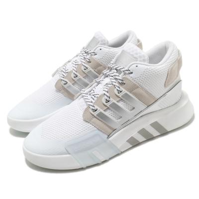 adidas 休閒鞋 EQT Bask ADV V2 男鞋 海外限定 愛迪達 三葉草 穿搭推薦 白 銀 FW4258
