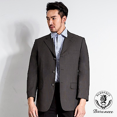 BARONECE 時尚風範羊毛西裝(63302-04)