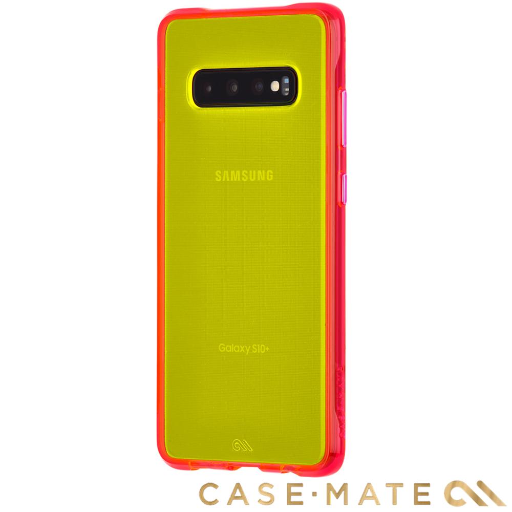 美國 Case-Mate S10+ Tough Neon 經典霓虹 - 霓虹綠/粉紅