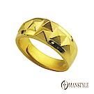 MANSTYLE 凱旋 黃金戒指 (約2.65錢)