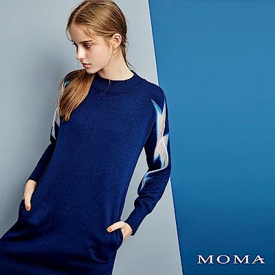 MOMA 閃電針織洋裝