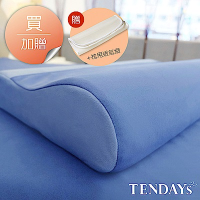 TENDAYS DISCOVERY 柔眠枕(冰湖藍) 8cm