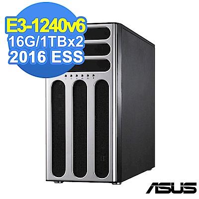 ASUS TS300-E9 E3-1245v6/16G/1TBx2/2016ESS