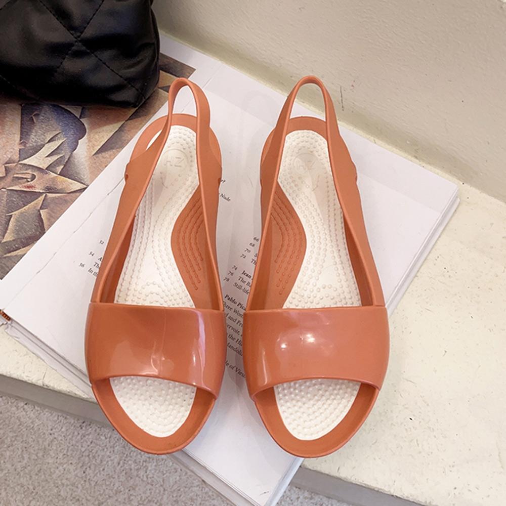 KEITH-WILL時尚鞋館-獨賣閃耀厚底涼鞋(涼鞋/涼跟鞋)(共3色) (粉色)