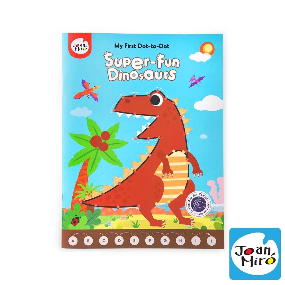 【西班牙 JoanMiro 原創美玩】兒童連點畫-恐龍樂園 JM08862