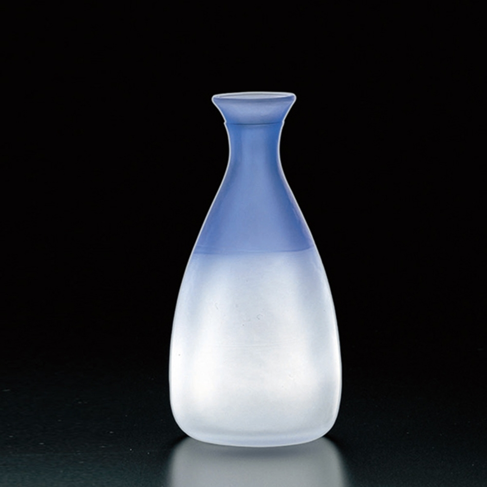 日本TOYO-SASAKI 手作德利清酒壺-藍色