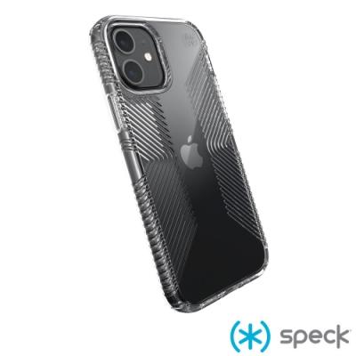 Speck Presidio Perfect-Clear Grip iPhone 12/12 Pro 透明抗菌防手滑防摔殼