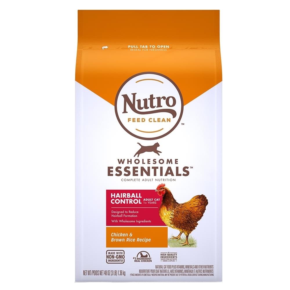 Nutro 美士 全護營養 成貓有效化毛配方(農場鮮雞+糙米)5磅 2包組