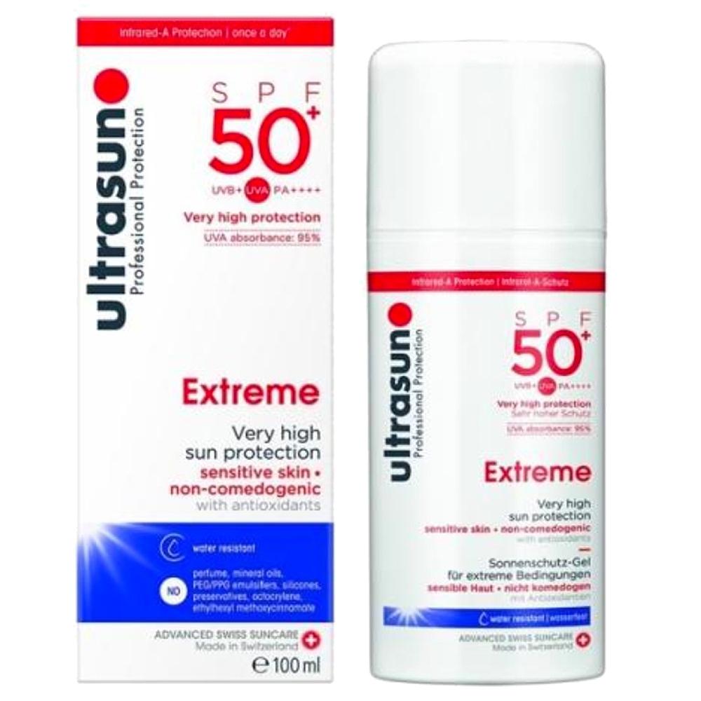 Ultrasun優佳 高倍防護防曬乳SPF50+ PA++++(100ml/罐)