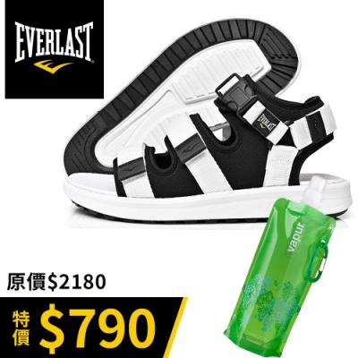 【時時樂】EVERLAST-情侶款休閒涼鞋(買再贈摺疊隨行水袋)