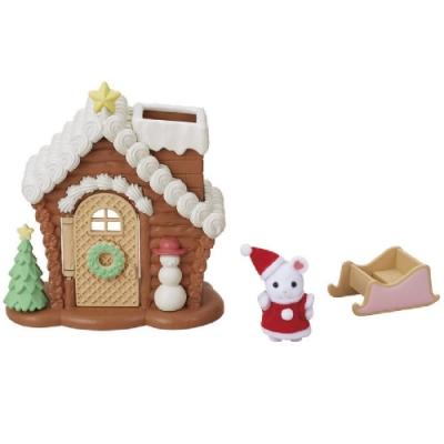 任選日本EPOCH 森林家族 聖誕房屋組EP14082 原廠公司貨