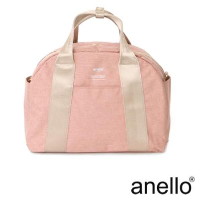 anello 高密度石南花紋迷你波士頓包 淺粉色 Regular
